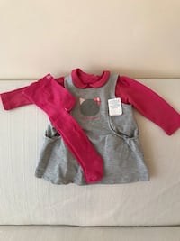 Red and gray zip-up jacket new baby clothes  New York, 11103