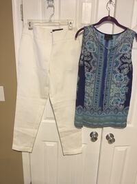 New pants size 8 , top Med excellent condition  Harpers Ferry, 25425