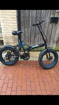 Ecotric foldable electric bike
