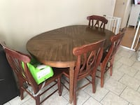 Dining Table and 4 Chairs Winchester, 92596