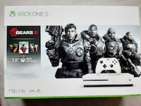 New Xbox One S | 1 TB | Gears Of War Collection Bundle | Unopened Box Charlotte
