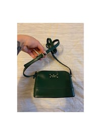 Authentic Kate spade green leather crossbody purse new  Toronto, M3N