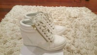 Aldo white wedged Sneakers  Mississauga, L5C 2W6