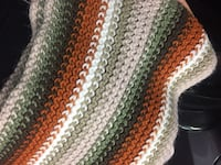 Multi colored  knitted scarf Whitby, L1N 1W3