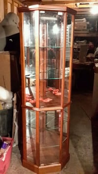 New Lighted Corner Curio Cabinet South Saint Paul, 55075