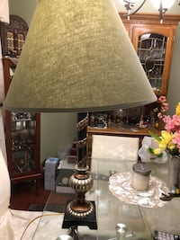 brown and white table lamp Oakville, L6H 6L2