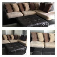 Rooms To Go Sectional With Chaise. Also ottoman  Wesley Chapel, 33545