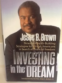 INVESTING IN THE DREAM Book - Brown - Business Money Self Help Las Vegas, 89119
