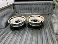 Chevy rims x 4 Lake Country