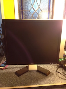 Grey Dell monitor 17""