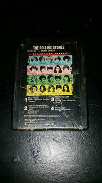 The rolling stones some girls /8 track