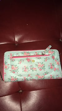 white and pink floral leather crossbody bag Mesa, 85204