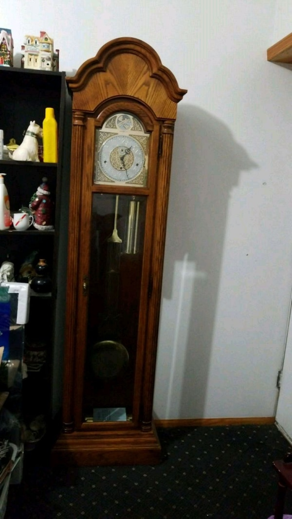 Used Howard Miller Tempus Fugit Grandfather Clock For Sale In