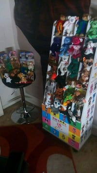 beanie baby collection with stand Silver Spring