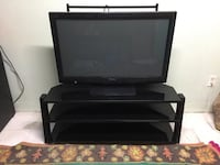Glass and metal tv television stand  Placentia, 92870