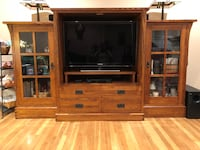 Mission style entertainment unit Covina, 91722