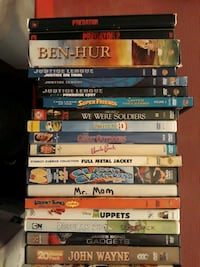 assorted DVD movie case lot Cape Coral, 33990