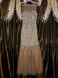 Champagne Sequin Homecoming or  Prom Dress Sunnyside, 98944