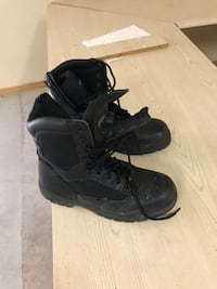 Thinsulate Steel toe Black boots