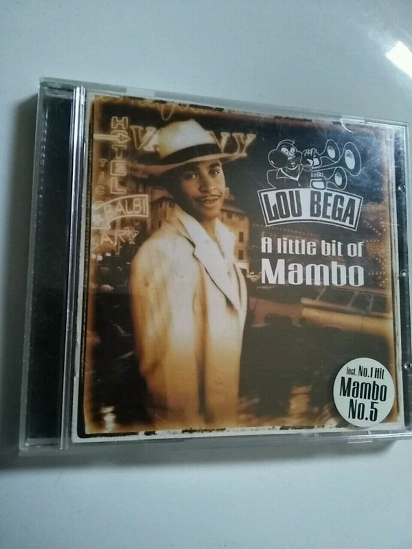 cd Lou Vega - A Little bit of Mambo