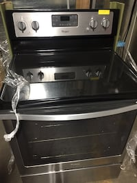 black and gray induction range oven West Carrollton, 45449