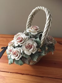 **MOVING SALE** Ceramic Flower Basket Calgary, T3K 0H8