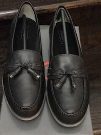 pair of black leather loafers Milton, L9T 8M3