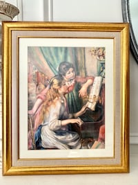 "Renoir Painting print ""Girls at the Piano"" Burtonsville, 20866"