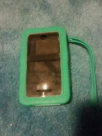 green cleather smartphone wrist case Portage, 15946