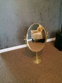 REDUCED Antique Brass Vanity Mirror Pitt Meadows, V3Y 1W6