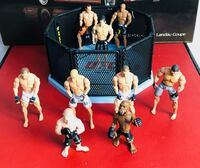 UFC FIGURES AND A RING SET