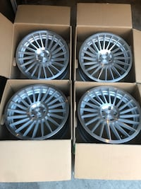 Rotiform IND-T 19x8.5 PCD 5x112 (3 free wheels and lug nut sets) Los Angeles, 90063