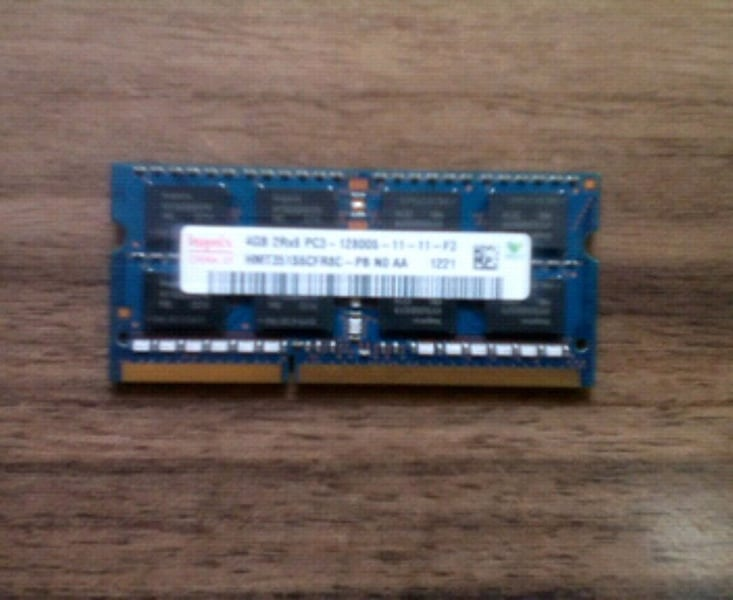 4 GB 1600 MHz DDR3 Ram 2acd6946-cfb3-4a46-b7bc-6e0fcaa90881