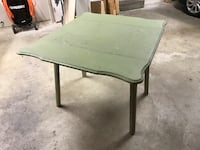 Antique Kitchen Table Extendable Massive Wood Maple Ridge, V2X 4X4