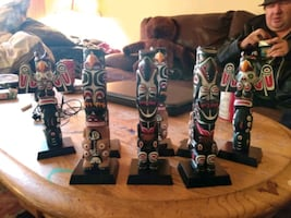 Totem pole collection
