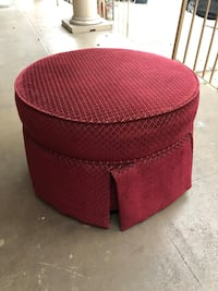 Red Ottoman - 2 feet  New Orleans, 70113