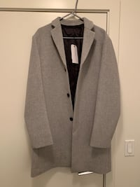 Selected Homme Wool Coat!  North Vancouver, V7P 0A9