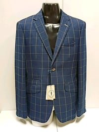 blue and gold  button-up suit jacket West Midlands, WV3 0AA