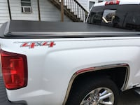 """Chevy short bed tri fold black tonneau cover truck bed is 69.6"""" Elkton, 21921"""
