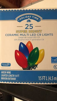 Super bright LED CHRISTMAS LIGHTS NEW