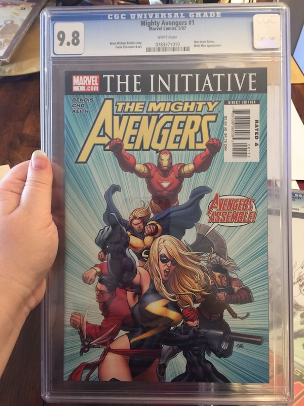 The mighty Avengers #1 CFC 9.8