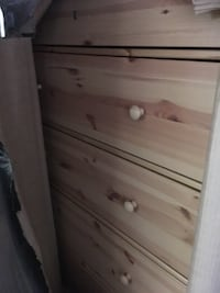 brown wooden 4-drawer chest Toronto, M4Y