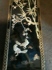 black and white floral painting Vallejo, 94590