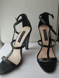 Forever new black heels size 39 Coolaroo, 3048