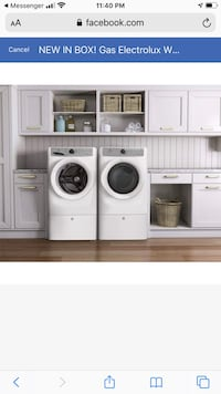 BRAND NEW! ELECTROLUX WASHER AND DRYER Branford, 06405