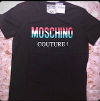 Moschino Luxury Designer T-Shirt Washington, 20002