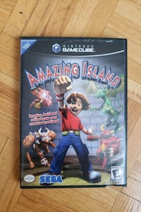 Gamecube Game- Amazing Island Toronto, M2M 3W5