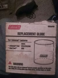Replacement globe for Coleman lantern model 222 28 290 and 295
