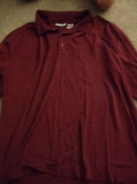 red scoop-neck long-sleeved shirt Ladson, 29456