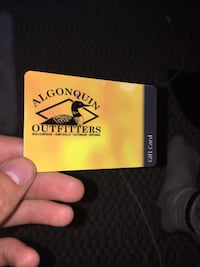 Algonquin Outfitters gift card 50$ Newmarket, L3Y 8L5
